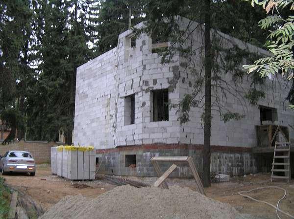 Строительство из пенобетонных блоков